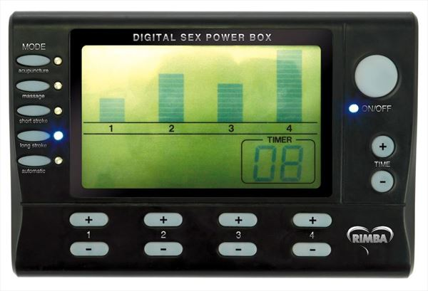 4 Canal - Set power box con display LCD y adhesivos para descarga (2)